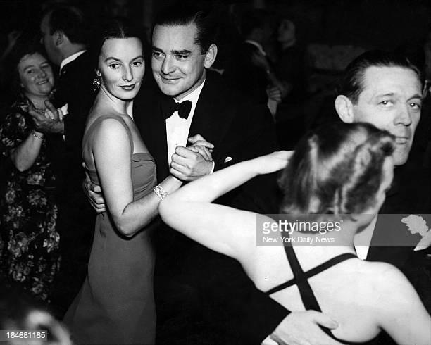 Mr and Mrs Cornelius Vanderbilt dancing at club El Morocco Night Club