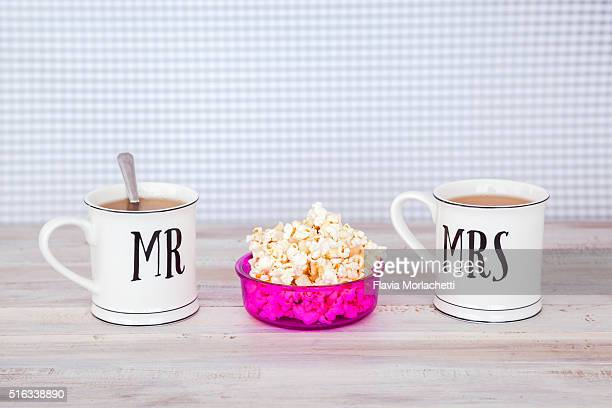 Mr. and Mrs. cups
