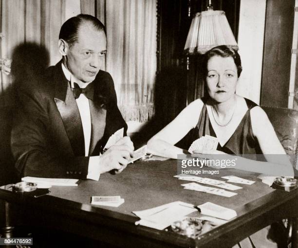 Mr and Mrs Ely Culbertson American contract bridge players 1931 Ely Culbertson played a prominent role in the development of contract bridge in the...