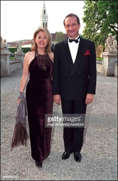 Mr and Mrs Gerard Longuet at the Golden Wedding Anniversary of Otto von Habsburgh