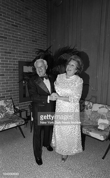 Mr and Mrs Lucien Laurin he's trainer of THAT horse They are happy about their chances June 8th 1973