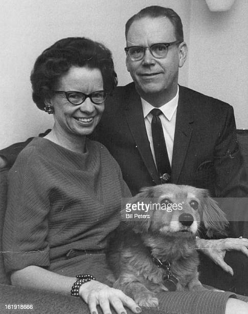 NOV 8 1967 NOV 11 1967 NOV 15 1967 Mr and Mrs Paul Beck pose with Jippy Beck can smile He has been elected Aurora's mayor