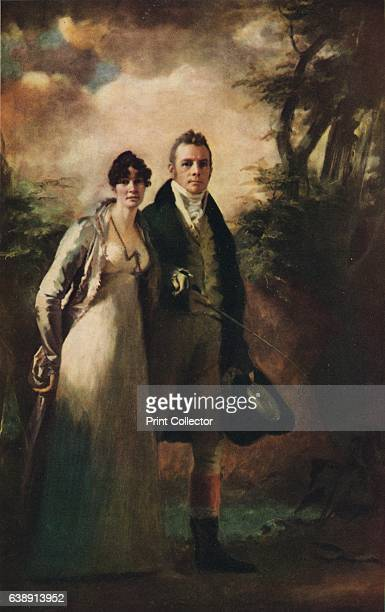 Mr and Mrs Robert Campbell of Kailzie' c1805 This painting is part of the Glasgow Art Gallery collections Glasgow From The Studio Volume 91 [London...