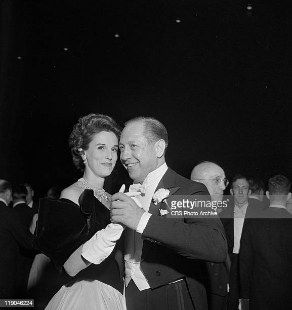 Mr and Mrs William Paley at Dwight D Eisenhower's Inaugural Ball January 20 1953