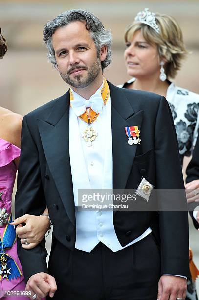 Mr Ari Behn attends the Cortege for Crown Princess Victoria of Sweden and Daniel Westling on June 19 2010 in Stockholm Sweden