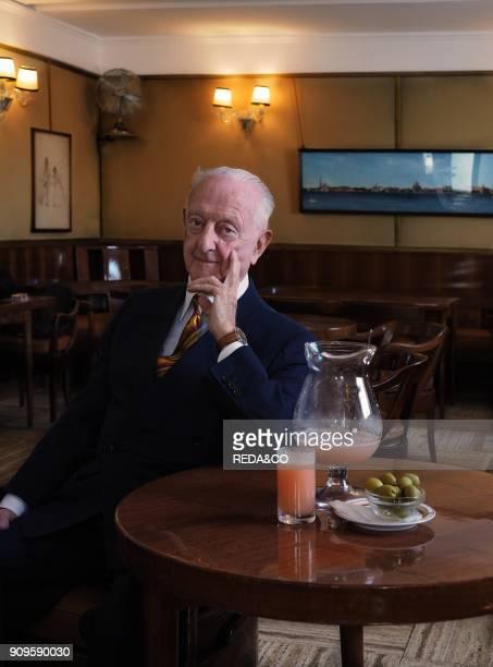 Mr Arrigo Cipriani at Harry's Bar Venice Veneto Italy Europe