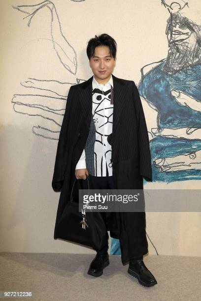 Mr Bags Blogger Tao Liang attends the Akris show as part of the Paris Fashion Week Womenswear Fall/Winter 2018/2019 on March 4, 2018 in Paris, France.