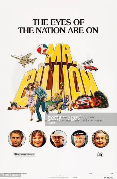 Mr Billion posterMr Billion US poster art bottom from left Terence Hill Valerie Perrine Slim Pickens Chill Wills Jackie Gleason 1977