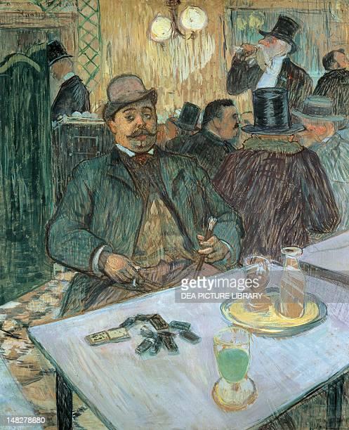 Mr Boileau at a cafe by Henri de Toulouse Lautrec Cleveland The Cleveland Museum Of Art