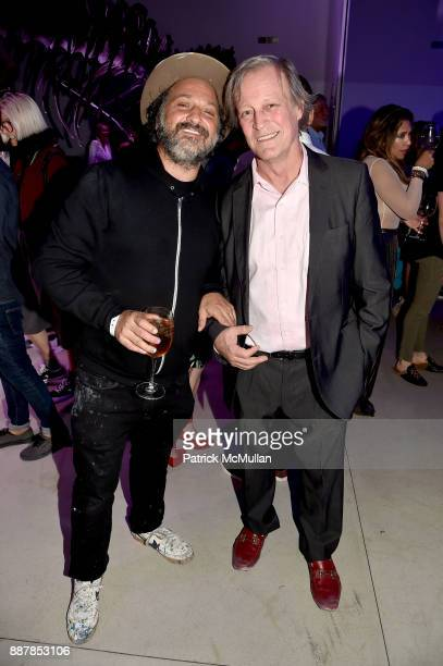 Mr. Brainwash and Patrick McMullan attend the After Party at Faena Forum on December 4, 2017 in Miami Beach, Florida.