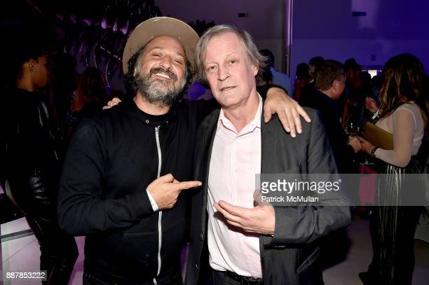 Mr Brainwash and Patrick McMullan attend the After Party at Faena Forum on December 4 2017 in Miami Beach Florida