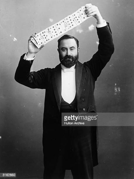 Mr C Bertram aka The Great Bertram a popular Victorian conjuror