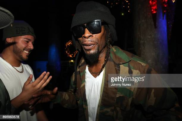Mr Cheeks attends the 13 Sins Album Release Party at SOB's on December 19 2017 in New York City