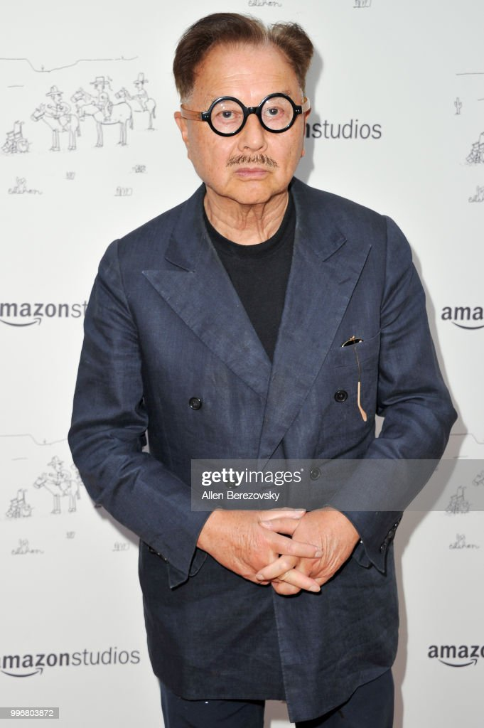 Mr. Chow attends Amazon Studios Premiere of 'Don't Worry, He Wont Get Far On Foot' at ArcLight Hollywood on July 11, 2018 in Hollywood, California.