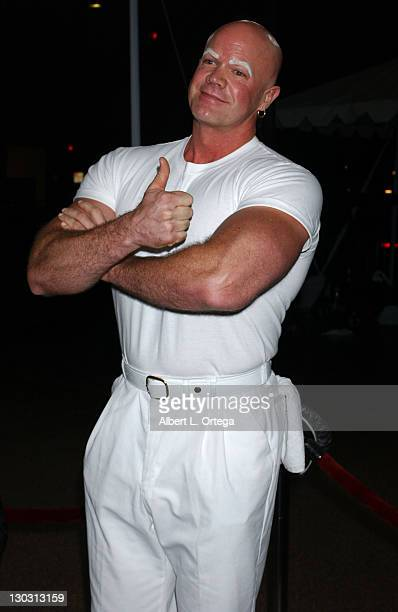 Mr Clean during 31st Annual People's Choice Awards Arrivals at Pasadena Civic Auditorium in Pasadena California United States