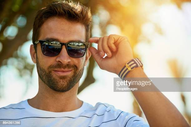 mr cool himself - sunglasses stock pictures, royalty-free photos & images