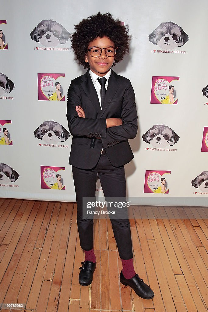 Mr. Cory of mr' Cory's Cookies pose during the Andi Dorfman Celebrates Tinkerbelle The Dog's Birthday at Inglot Cosmetics on November 11, 2015 in New York City.