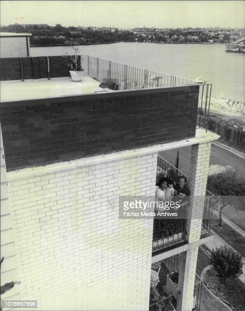Mr Don Ramage's unit in Portfield drive ChiswickDon Ramage amp the problemDon Ramage his wife Rebecca amp daughter AnnaLeah on balconyDon and Rebecca...