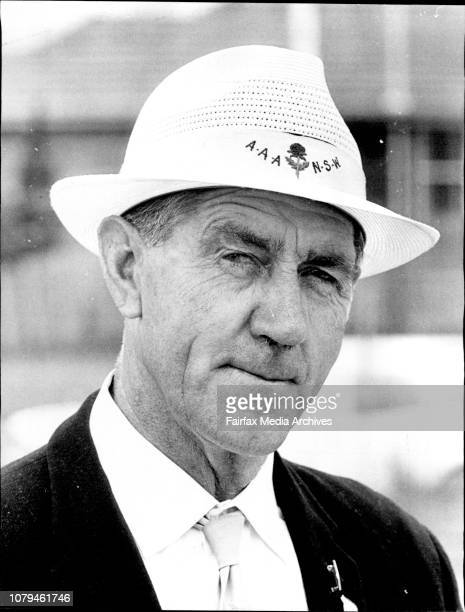 Mr Doug Fryer AAA OfficialNSW Country Athletics Championships January 27 1973