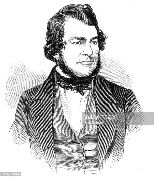 Mr. Ferrand, 1844. Portrait of British MP William Ferrand. 'So much public attention has been of late directed towards the parliamentary conduct and...