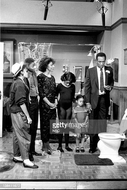 SHOW Mr Fish Episode 2 Air Date Pictured Lisa Bonet as Denise Huxtable Kendall MalcolmJamal Warner as Theodore 'Theo' Huxtablem Phylicia Rashad as...