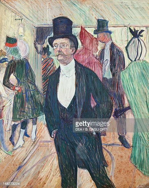 Mr Fourcade by Henri de Toulouse Lautrec oil on canvas 77x66 cm San Paolo Museu De Arte De Sao Paulo
