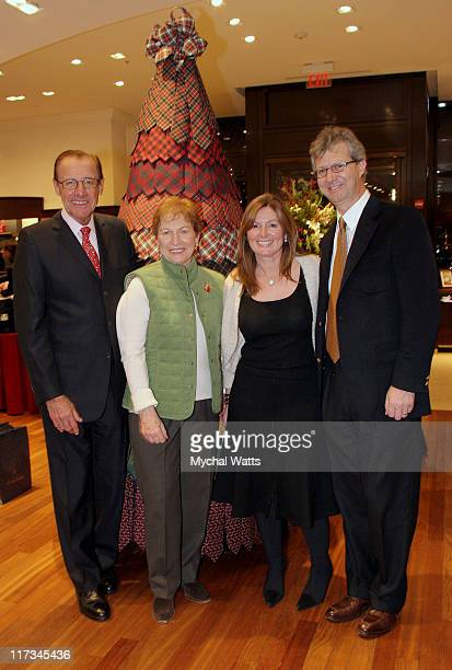 Mr Frank Castagna Manhassett Mall Owner and wife with Ceo and Pres Claudio DelVeccio and his wife Deborah
