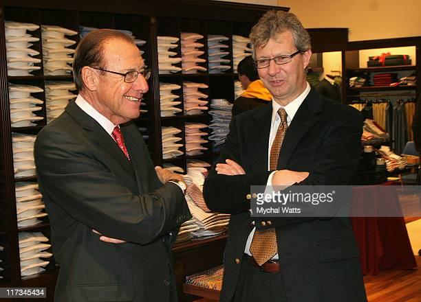 Mr Frank Castagna Manhassett Mall Owner with Ceo and Pres Claudio DelVeccio