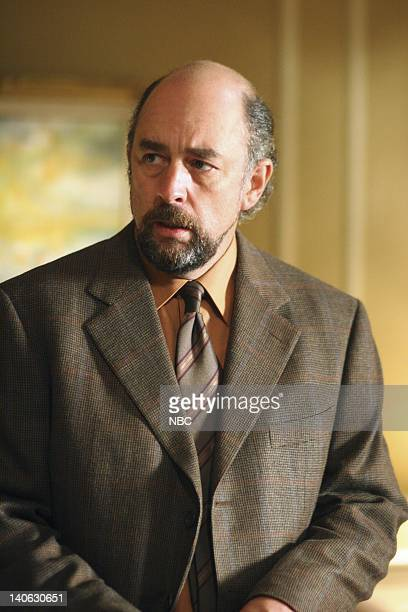 WING Mr Frost Episode 4 Aired Pictured Richard Schiff as Toby Ziegler Photo by Danny Feld/NBCU Photo Bank