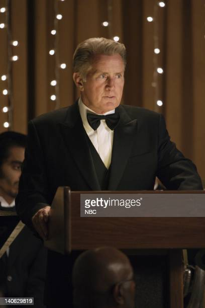 WING Mr Frost Episode 4 Aired Pictured Martin Sheen as President Josiah Jed Bartlet Photo by Chris Haston/NBCU Photo Bank