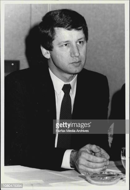 Mr Garry A Carter Chairman of APA holdings Limited June 16 1986