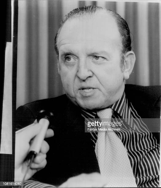 Mr Harper Martin US Refrigeration Expert arrives in Sydney to supervise completion of a $3000 Chicken process Plant March 31 1977