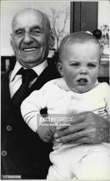 Mr Henry King and his great great Grandson Bryan Marshman who was born on Mr Kings 99th birthday 25th September 1983 On the 25th of September this...