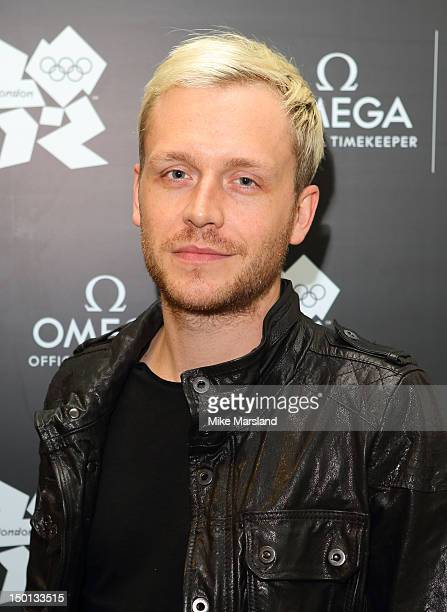 Mr Hudson attends 'Brazil Night' at Omega House on August 10 2012 in London England