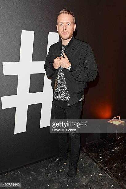 Mr Hudson attends the Harvey Nichols presentation of #BEENTRILL# designer collaboration during London Collections Men at The Vaults on June 16 2014...