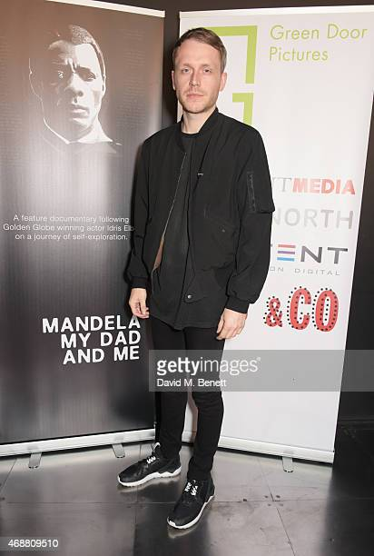 Mr Hudson attends the premiere screening of 'Mandela My Dad And Me' at the BFI Southbank on April 7 2015 in London England
