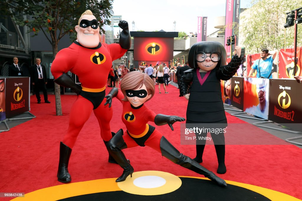 'Incredibles 2' UK Premiere : Fotografía de noticias