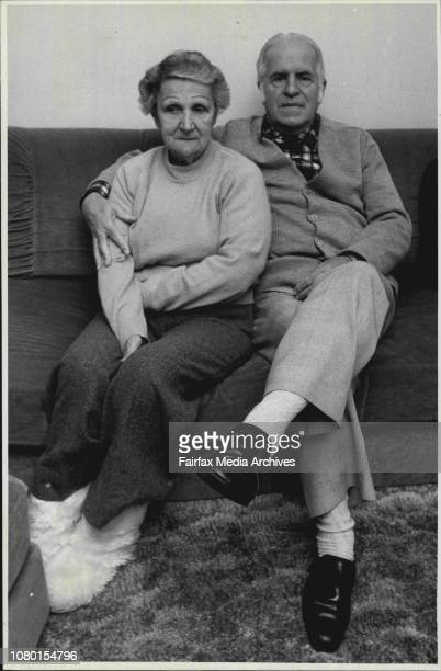 Mr Jack Spicer and his wife Thora at their home in StratfieldJack and Thora Spicer believe they are two of the lucky ones but they will still have to...