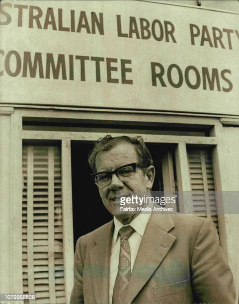 Mr Joe Riordan the newly elected member for Phillipdeposed Sir William Aston in yesterdays Federal ElectionsMr Riordan at the Australian Labor Party...