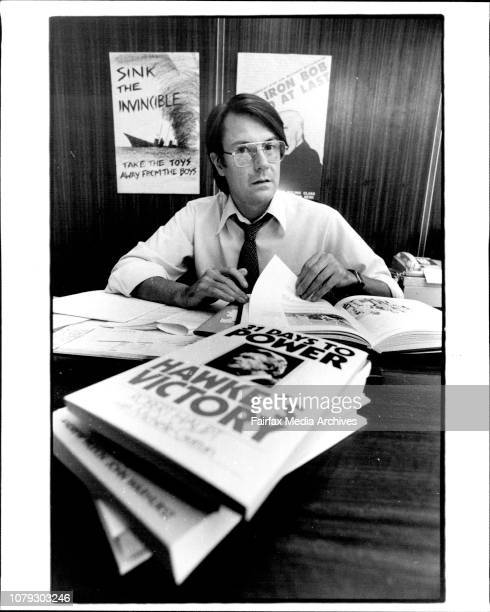 Mr John Iremonger Publisher at George Allen and Unwin 8 Napier St Nth Sydney April 13 1983