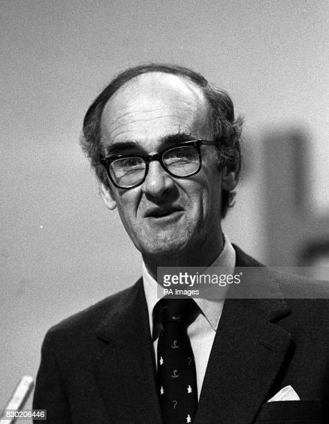 Mr John Nott the Secretary of State for Defence and the MP for St Ives Cornwall Mr Nott is retiring from politics at the next general election 6/1/83...