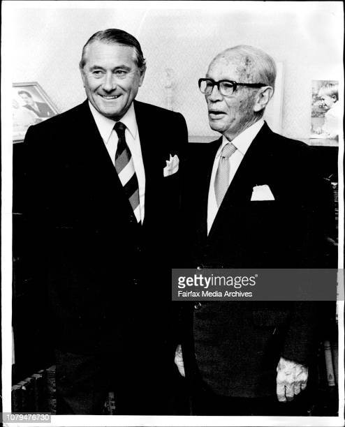 Mr Justice Allan Victor Maxwell SNR and Mr Justice Alan Victor Maxwell JNR who has just ***** to the bench of NSW supreme court at Judge Maxwell...
