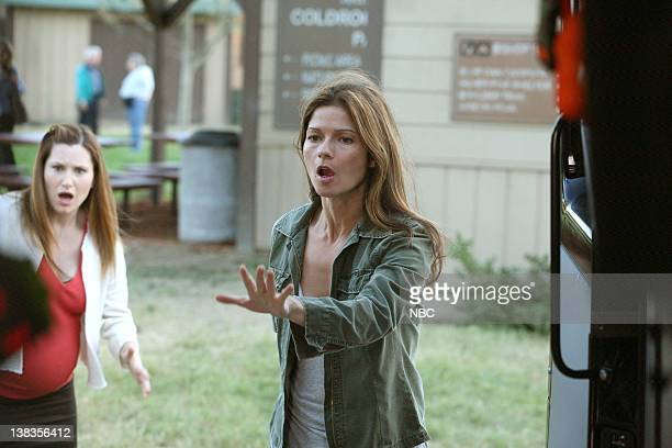 JORDAN Mr Little Mr Big Episode 604 Pictured Kathryn Hahn as Lily Jill Hennessy as Dr Jordan Cavanaugh