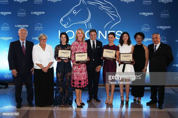 Mr Louis Romanet Criquette HeadMaarek Michelle Payne Belinda Stronach Mr JuanCarlos Capelli Georgina Bloomberg Reed Kessler Jing Li and Mr Ingmar de...