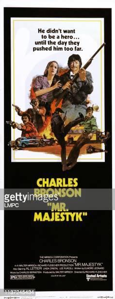 Mr Majestyk posterMr Majestyk Linda Cristal Charles Bronson on poster art 1974