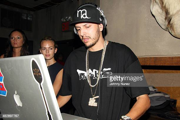 DJ Mr Mauricio during Celebrity Sightings at Bunny Chow's June 13 2006 at Cane in New York City New York United States