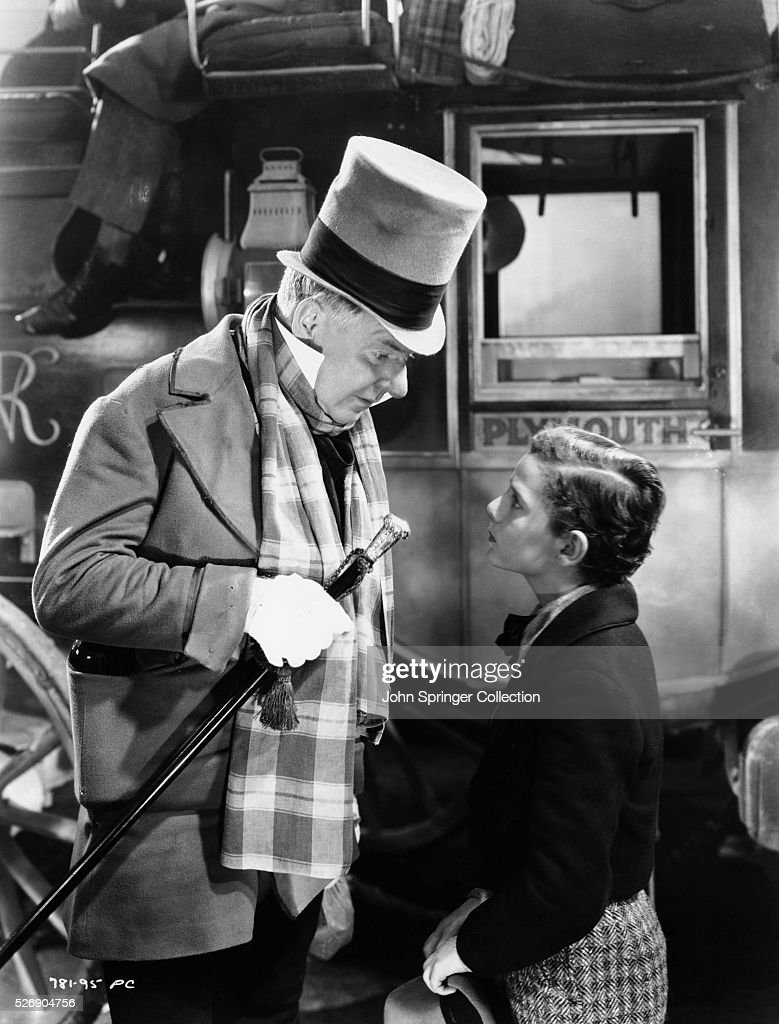 W.C. Fields and Freddie Bartholomew in David Copperfield Pictures ...
