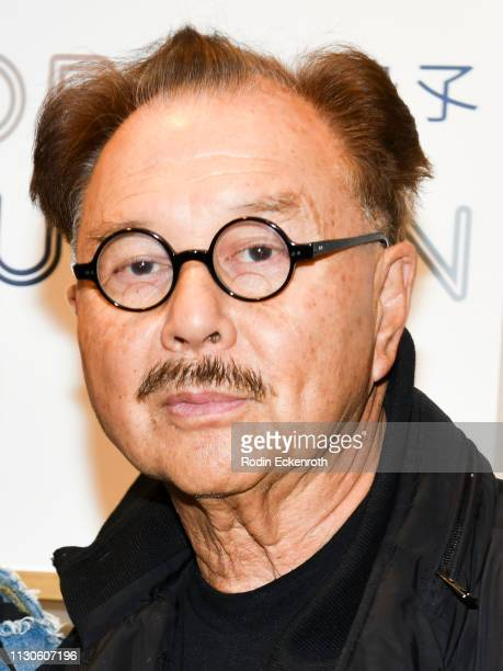 Mr Michael Chow poses for portrait at the Global Intuition new collection launch at Fred Segal on February 18 2019 in West Hollywood California