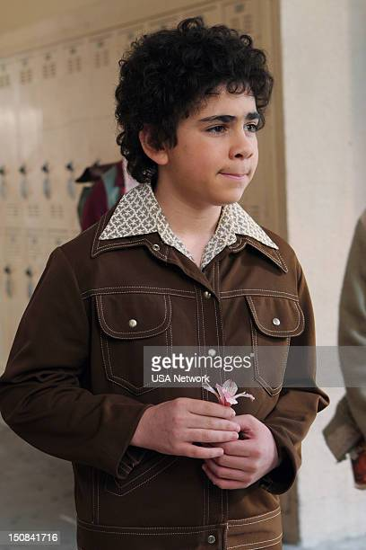 MONK Mr Monk and Little Monk Episode 8 Pictured Grant Rosenmeyer as young Adrian Monk