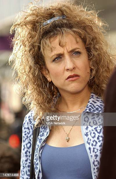 MONK Mr Monk and the Airplane Episode 13 Pictured Bitty Schram as Sharona Fleming